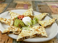 Quesadillas at Ay Jalisco, Gaithersburg