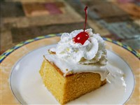 Pastel Tres Leches at Ay Jalisco, Gaithersburg