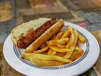 Hot Dog With Fries at Ay Jalisco, Gaithersburg