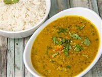 Dal Tadka at Lemon Cuisine of India, Washington