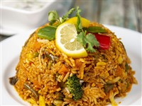 Vegetable Biryani at Lemon Cuisine of India, Washington