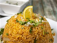 Chicken Biryani at Lemon Cuisine of India, Washington