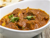 Lamb Or Goat Jhalfrazie at Lemon Cuisine of India, Washington