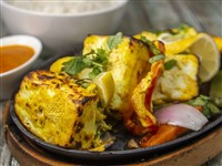 Paneer Tikka at Lemon Cuisine of India, Washington
