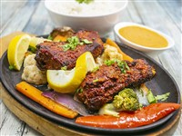 Anardana Lamb at Lemon Cuisine of India, Washington