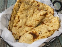 Allo Paratha at Lemon Cuisine of India, Washington