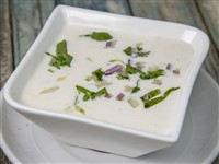 Raita at Lemon Cuisine of India, Washington