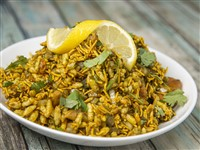 Bhel Puri at Lemon Cuisine of India, Washington