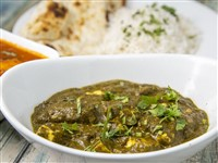 Palak Paneer at Lemon Cuisine of India, Washington