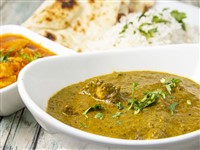 Chicken Saag at Lemon Cuisine of India, Washington