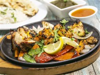 Tandoori Platter at Lemon Cuisine of India, Washington