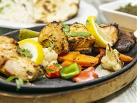 Chicken Tikka Platter at Lemon Cuisine of India, Washington