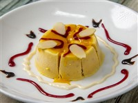 Malai Kulfi at Lemon Cuisine of India, Washington
