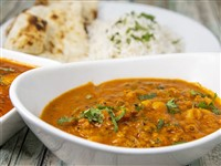 Channa Masala at Lemon Cuisine of India, Washington