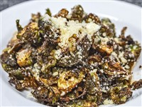 Crispy Brussels Sprouts w/Parmesan at Acacia Food & Wine, Washington