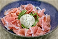 Prosciutto E Burrata at Lupo Verde, Washington