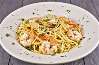 Shrimp Scampi at That's Amore, Rockville