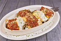Eggplant Parmesan at That's Amore, Rockville