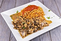 Veal Marsala at That's Amore, Rockville