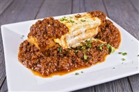 Amore's Meat Lasagna at That's Amore, Rockville