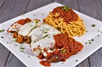 Chicken Parmesan at That's Amore, Rockville