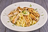 Fettuccine Alfredo at That's Amore, Rockville