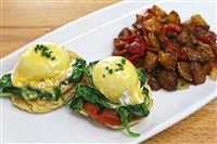 Florentine Benedict at Magnolia Kitchen & Bar, Washington
