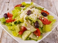 Greek Salad at Caspian House of Kabob, Gaithersburg