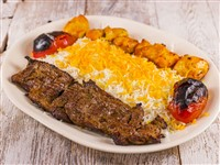 Fillet Combo at Caspian House of Kabob, Gaithersburg