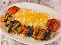 Chicken Shish Kabob at Caspian House of Kabob, Gaithersburg