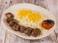 Lamb Kabob (New Zealand) at Caspian House of Kabob, Gaithersburg