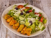 Greek Salad With Chicken at Caspian House of Kabob, Gaithersburg