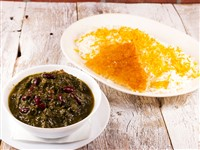 Ghormeh Sabzi at Caspian House of Kabob, Gaithersburg