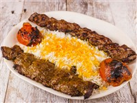 Soltani at Caspian House of Kabob, Gaithersburg