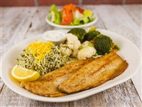 Pan Seared Trout at Caspian House of Kabob, Gaithersburg