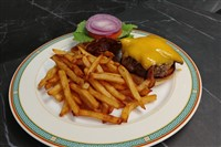 Le Burger Du Fermier at La Ferme Restaurant, Chevy Chase
