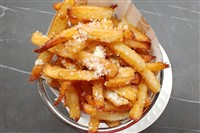 Truffled Fries With Parmesan at La Ferme Restaurant, Chevy Chase